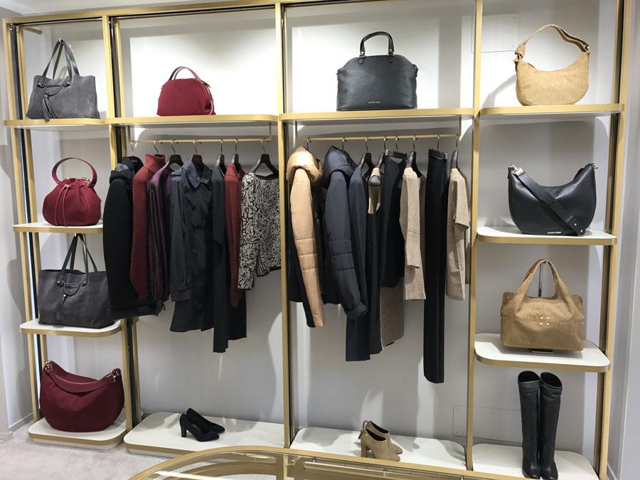 Borbonese - Yu Retail - Visual Merchandising - Allestimenti