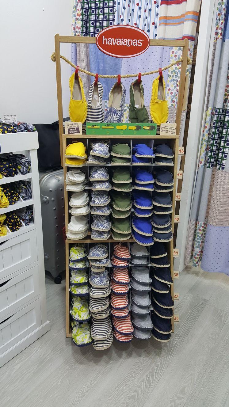 Allestimento visual merchandising per Havaianas by Yu Retail