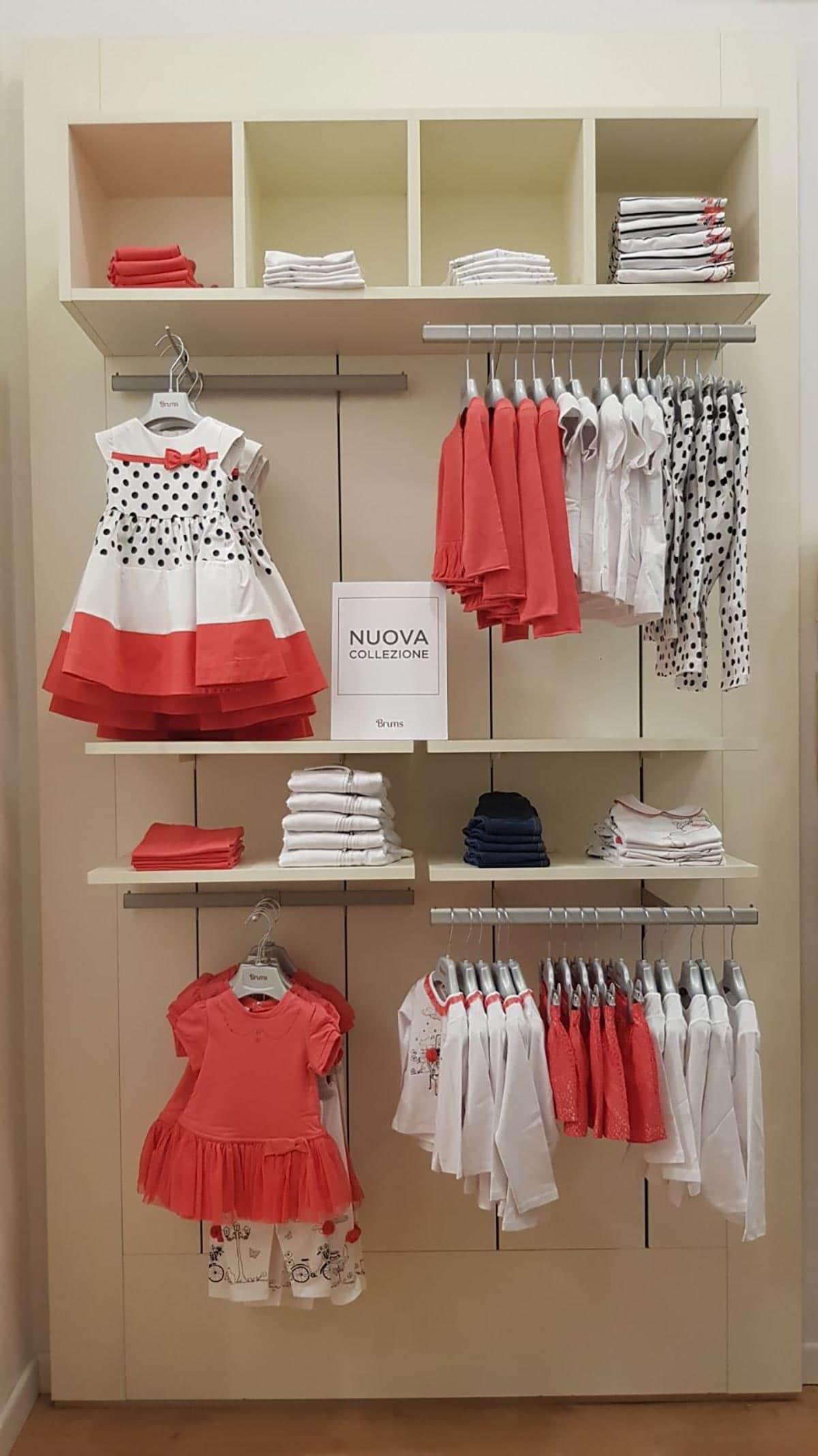 Allestimento visual merchandising per Brums by Yu Retail