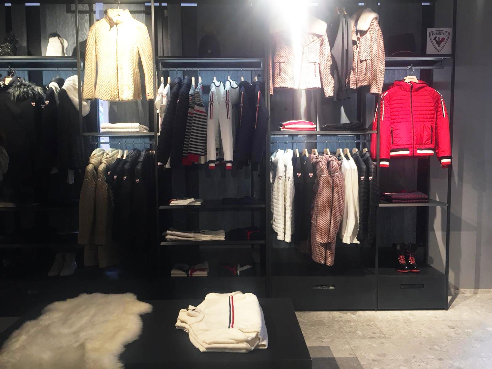 Allestimento visual merchandising per Rossignol by Yu Retail