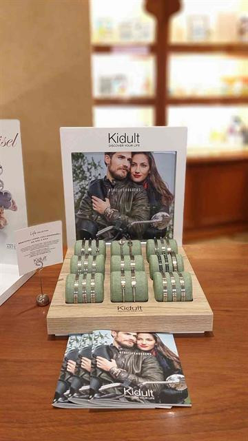 Allestimento visual merchandising per Kidult by Yu Retail