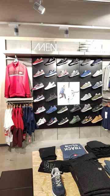 Allestimento visual merchandising per New Balance by Yu Retail