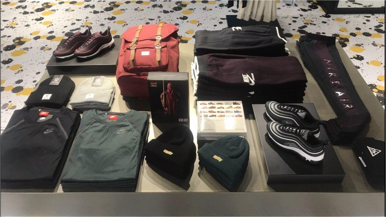 Allestimento visual merchandising per Urban Jungle by Yu Retail